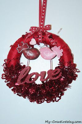 Love Birds Wreath