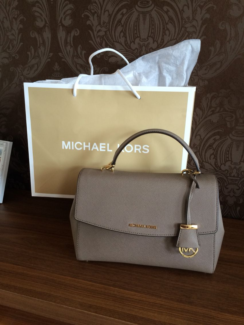 Michael Kors Ava bag in dark dune.  d5bdf9e7193