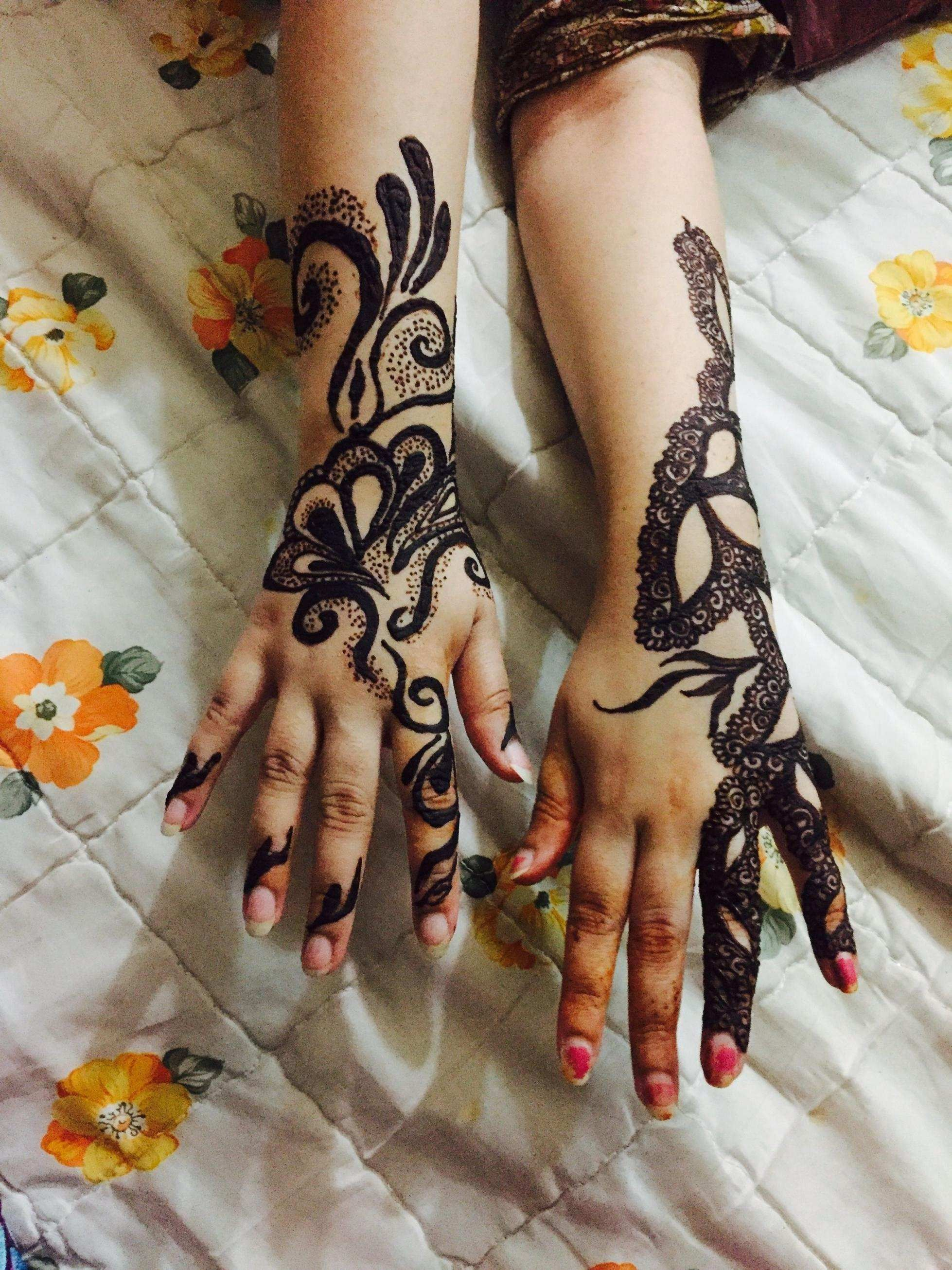 Photo of 22 Elegant Nail Art Ideas Easy – Simple Henna Hand Designs Lovely Mehndi Tattoo …