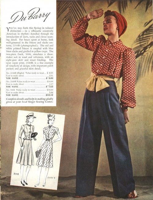 Singerdubarry 1940 S Fashion Fashion Illustration Dresses Fashion