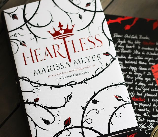Alohamora: Open a Book: Heartless gets 3.5 Stars {Fantasy, Fractured Fairy Tale, YA Lit} Heartless by Marissa Meyer a fractured fairytale fantasy about how the Queen of Hearts in Wonderland became the Queen.  Really great idea for a story, but with such an idea I feel it should've been more character driven rather than plot driven.  More of a love story.  YA lit, young adult literature, teen reads, Lewis Carrol, Alice in Wonderland, kind of like Wicked of Alice in Wonderland. Alohamora Open ...