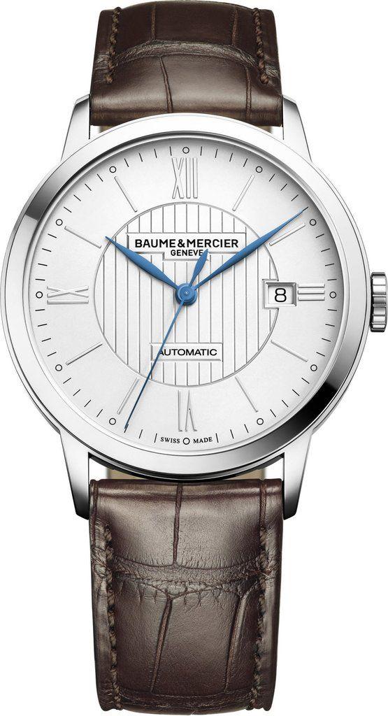 e266652acdf  baumeetmercier Watch Classima  bezel-fixed  bracelet-strap-alligator  brand