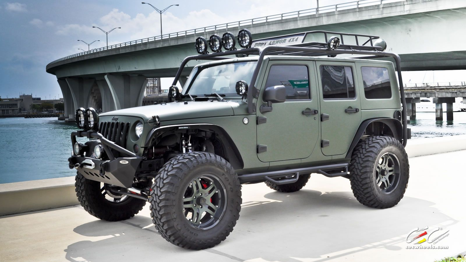 Cec Miami Jeep Wrangler Build Green Jeep Wrangler Green Jeep Jeep Wrangler