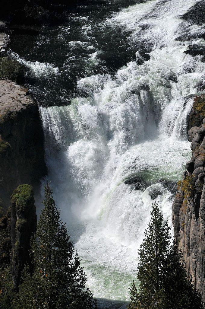 Lower Mesa Falls  Idaho Gem State  Idaho falls