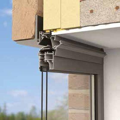 Window ventilators  demand-controlled ventilation GLASS WORK - fenetre pour maison passive
