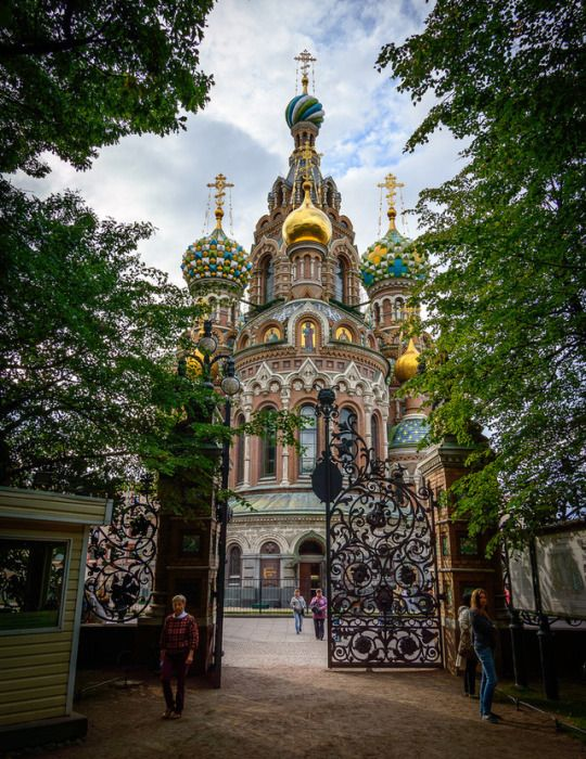 Church of Savior on Spilled Blood, Saint Petersburg (by Marco S. Nobile)