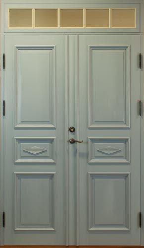 Bilder på Pardörrar Ytterdörrar | .allmoge.se. Front DoorsSwedish ... & Dooria ytterdörr ljusgrön | Fönster u0026 dörrar | Pinterest pezcame.com