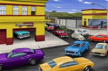Rede social reúne proprietários de carros antigos em todo o País