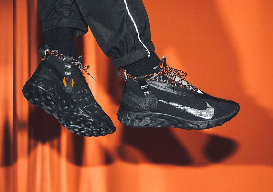 Nike React Runner Mid noire (3) | Chaussure garcon, Style homme ...