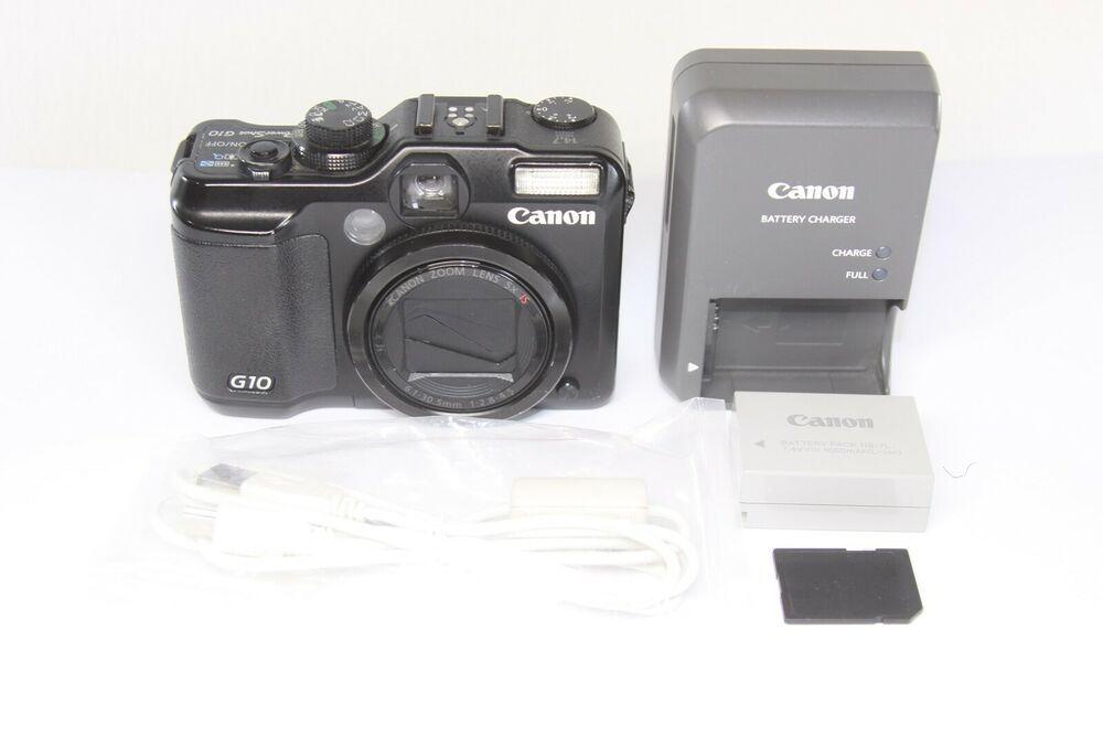 Canon Powershot G10 Digital Camera 14 7mp Made In Japan Camera Photo Digital Canon Powershot Digital Camera Powershot