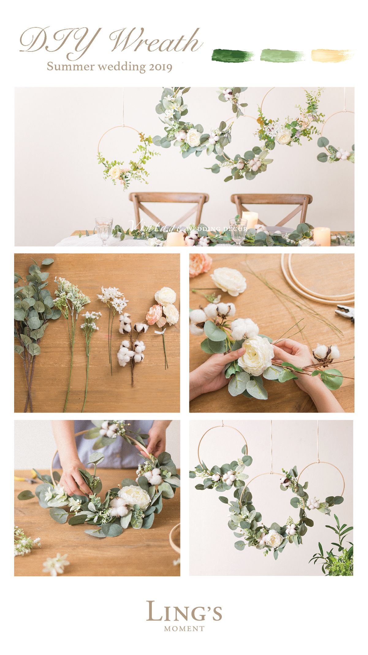 "30% off! code""fbgn30"". trending 50 types leaves and garland for"