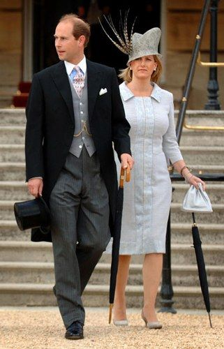 Countess of Wessex et prince Edaward