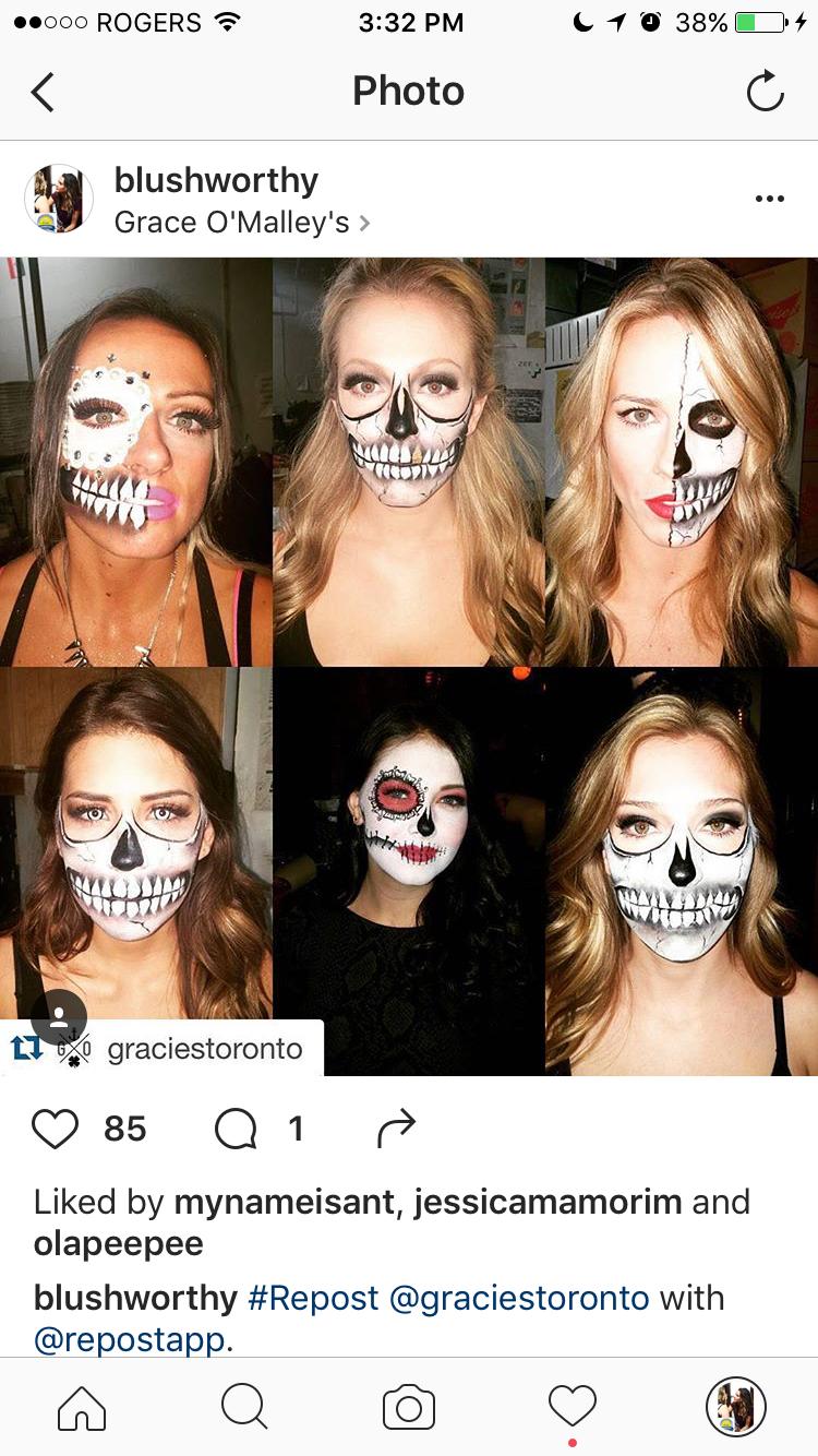 Burnt face Halloween special FX makeup. Makeup by; @CaileyBrammer ...