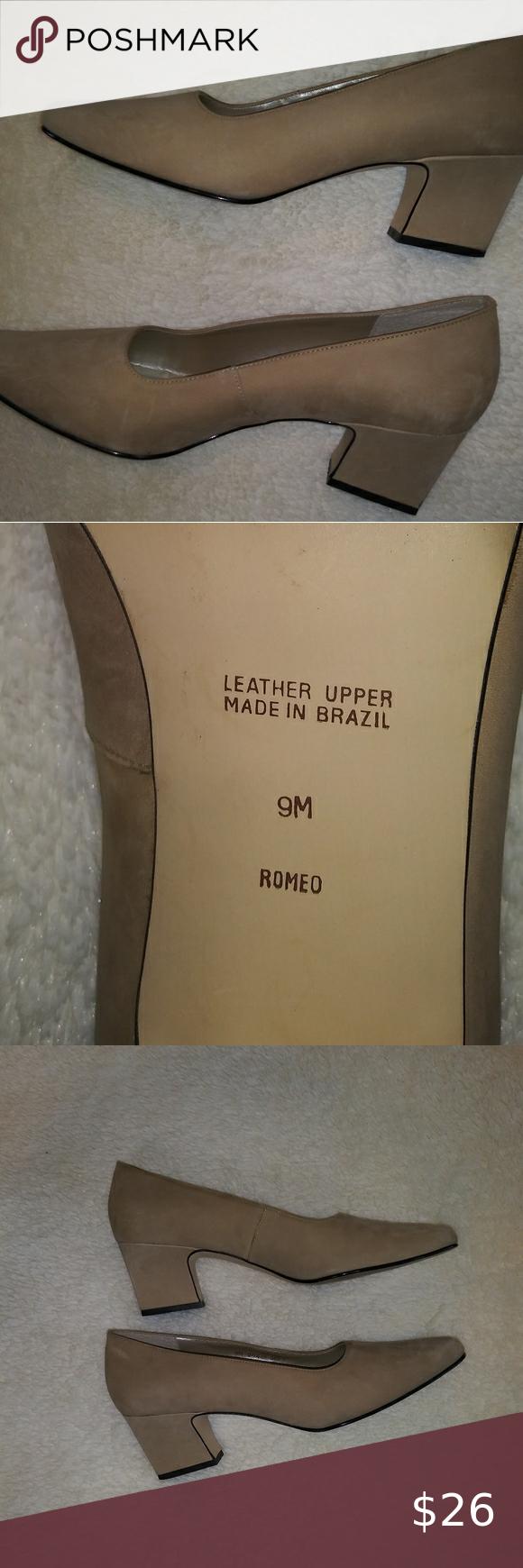 Apostrophe Suede bone color dress shoes