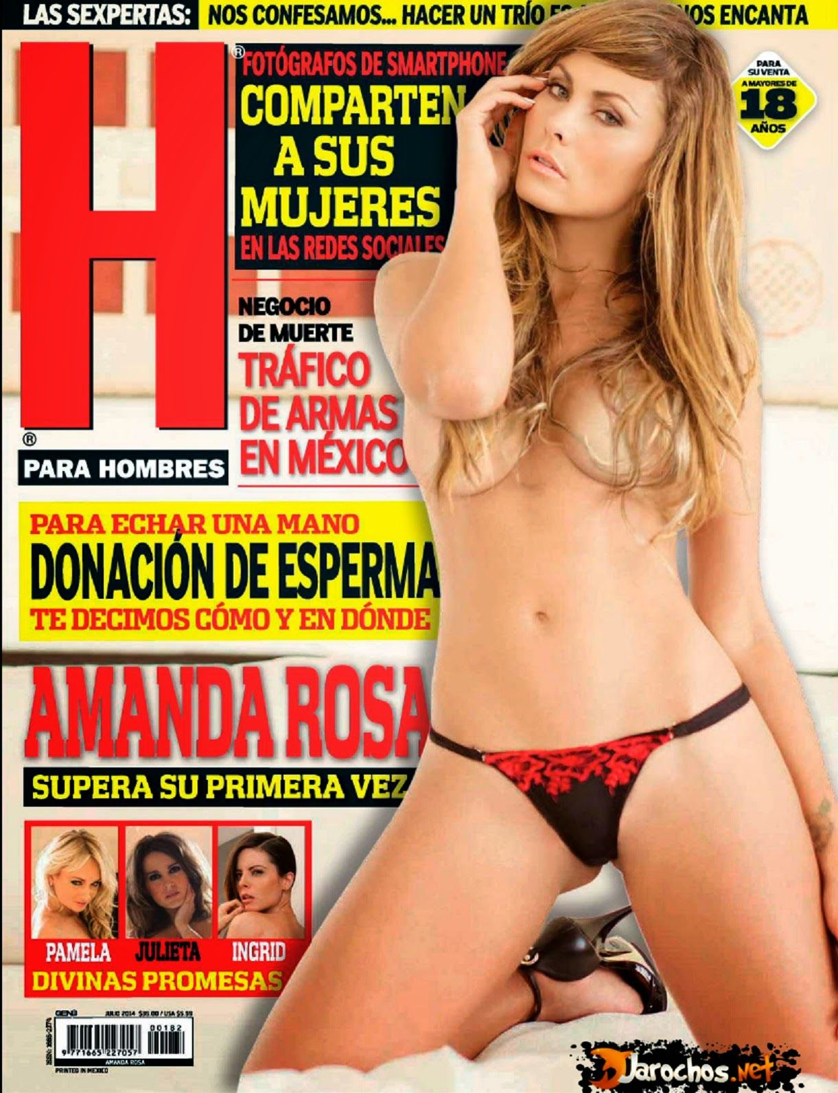 Amanda Rosa Play Boy amanda rosa revista h julio 2014 [pdf digital] | famosasmex