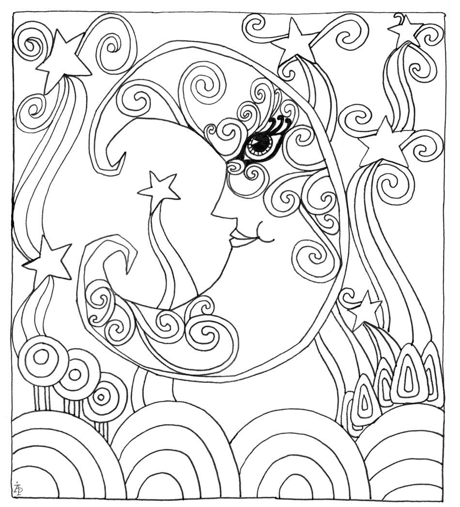 - Wind Down Your Week With 3 Downloadable Coloring Pages (With