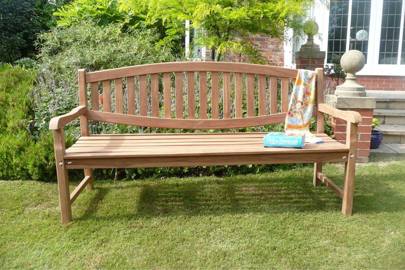 The Whitby Teak Garden Bench Teak Garden Bench Garden Furniture