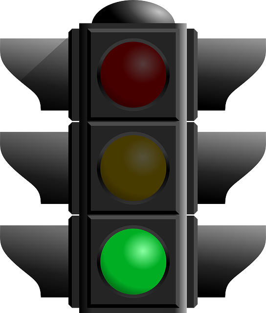 Green Light Traffic Light Signals Vector Svg Lampu Lalu Lintas Lampu Merah