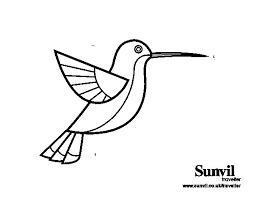 Resultado De Imagen Para Colibri Para Bordar Colibri Dibujo Colibri Para Dibujar Colibri