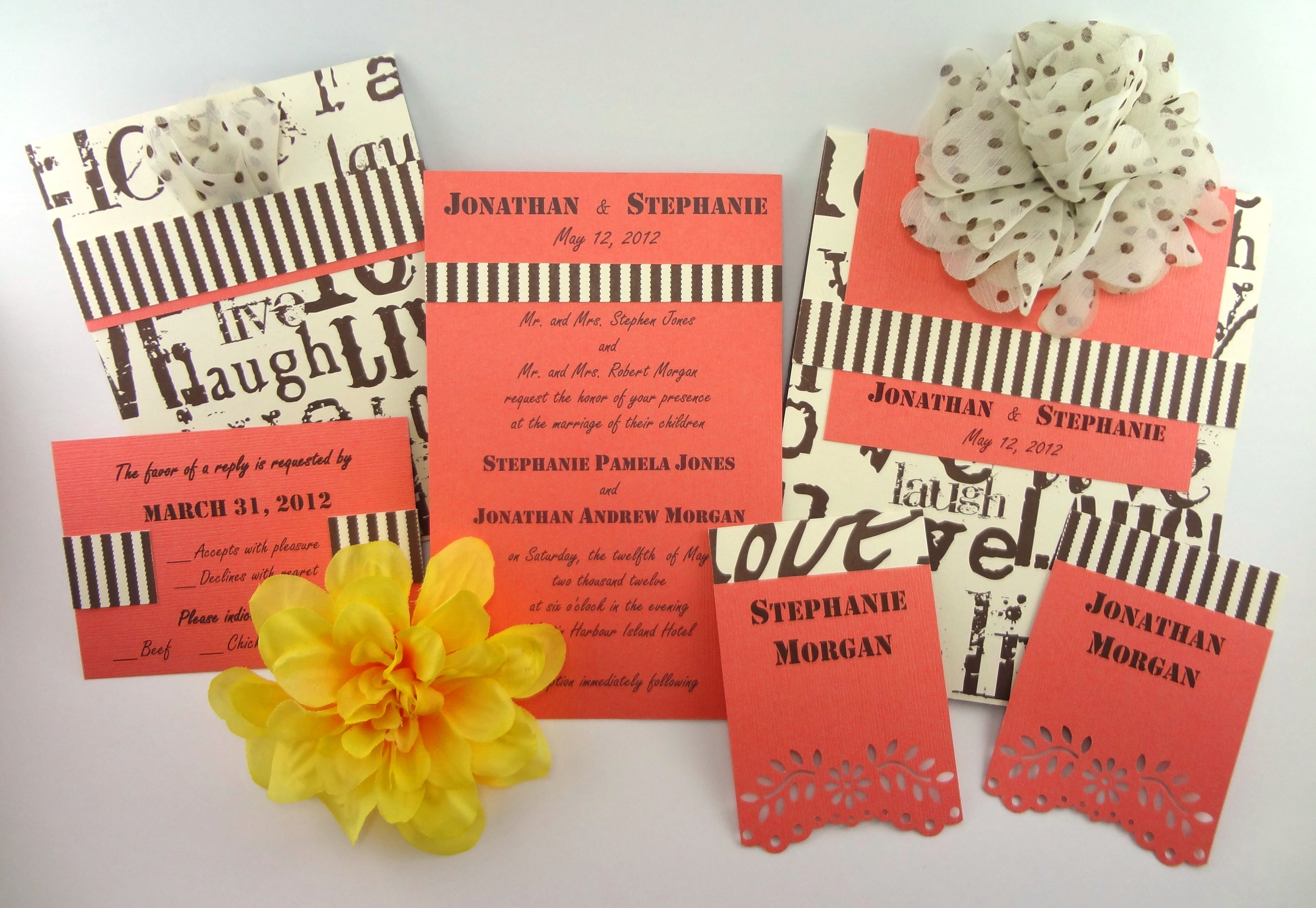 Playful Patterns Collection- Playful Patterns- Unique wedding ...