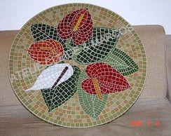 Tampos De Mesa Tampos De Mesa Em Mosaico Artesanato Em