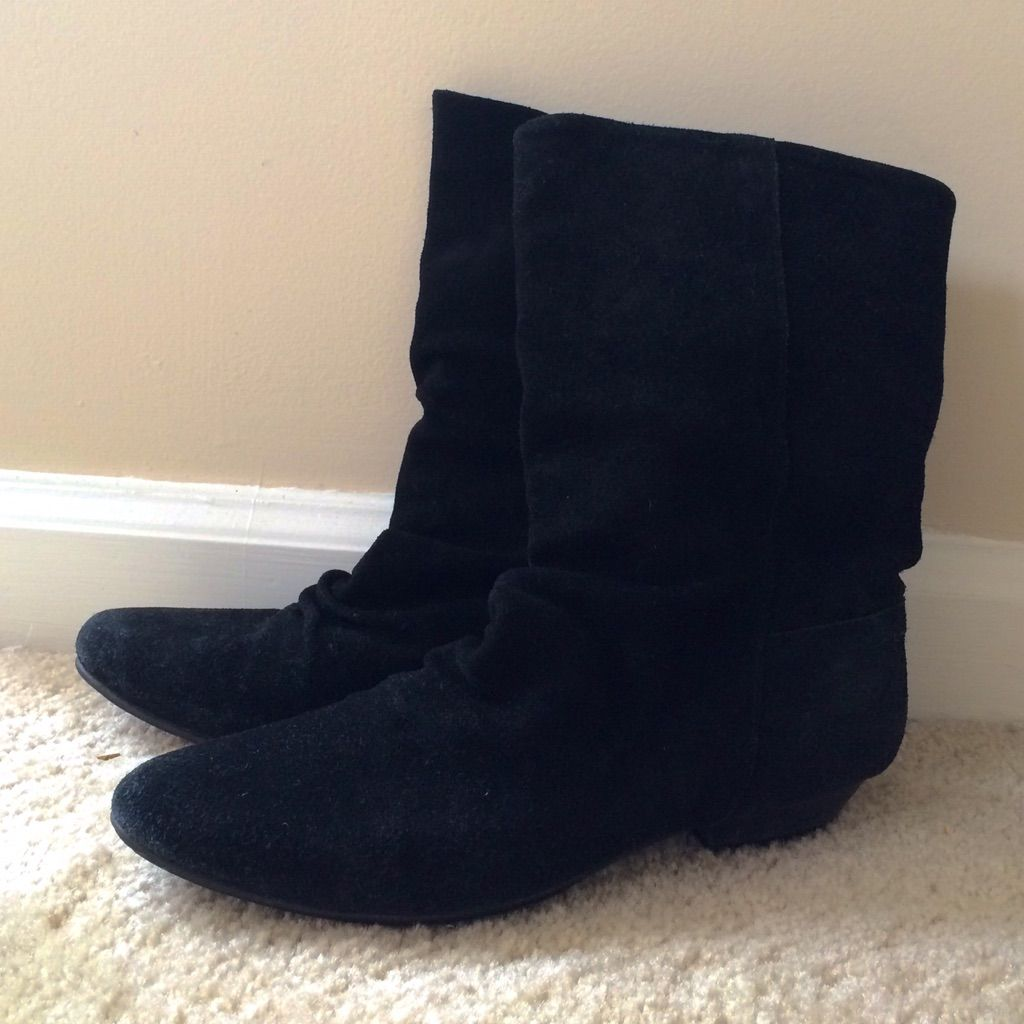 Bakers Black Suede Boot