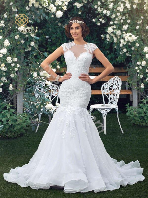 Mermaid White Wedding Dresses Bride Gowns Lace Appliques Vestidos De Noiva Sereia Robe De Mariage Casamento Bride Dress 2015 - http://www.aliexpress.com/item/Mermaid-White-Wedding-Dresses-Bride-Gowns-Lace-Appliques-Vestidos-De-Noiva-Sereia-Robe-De-Mariage-Casamento-Bride-Dress-2015/32350745947.html
