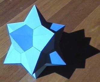 Medial Rhombic Triacontahedron