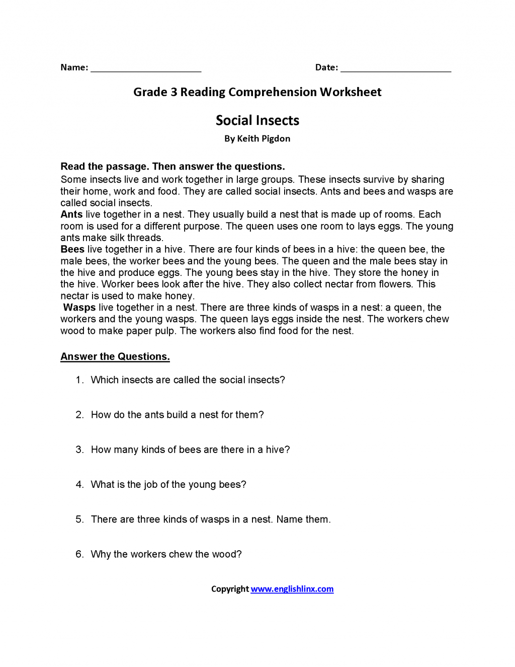 2 K5 Learning Math Free Worksheets For Grade 3 Math Worksheets Tag 50 Reading Comprehension Worksheets Comprehension Worksheets Third Grade Reading Worksheets