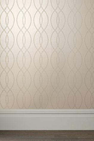Textured Geo Wallpaper from Next UK online shop | Natty Flat ...