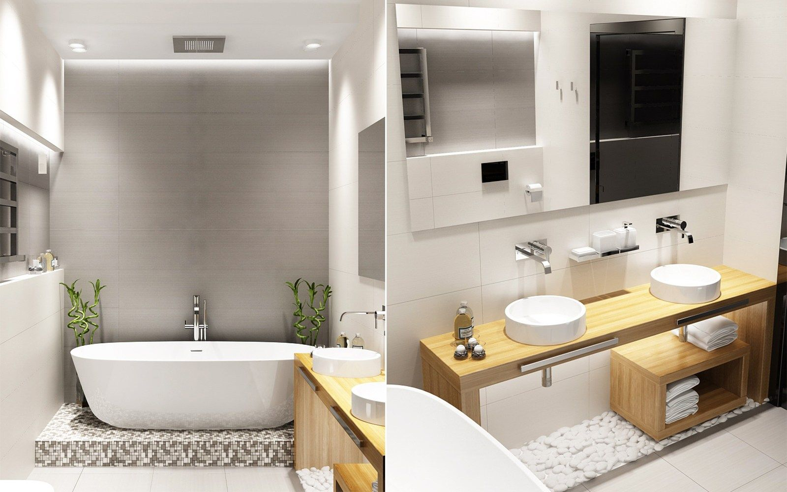 Kreative Weise Weisse Badezimmer Entwurfe Zu Verzieren Die Mit Einem Modernen Backsplash Dekor Verschonert Werden Best Bathroom Designs Elegant Bathroom Bathroom Design
