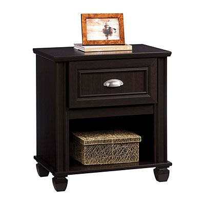 Ameriwood Dark Russet Cherry Night Stand At Lots
