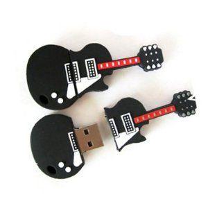 yoousb 16gb novelty cool guitar style usb flash pen drive memory stick gift uk pc. Black Bedroom Furniture Sets. Home Design Ideas