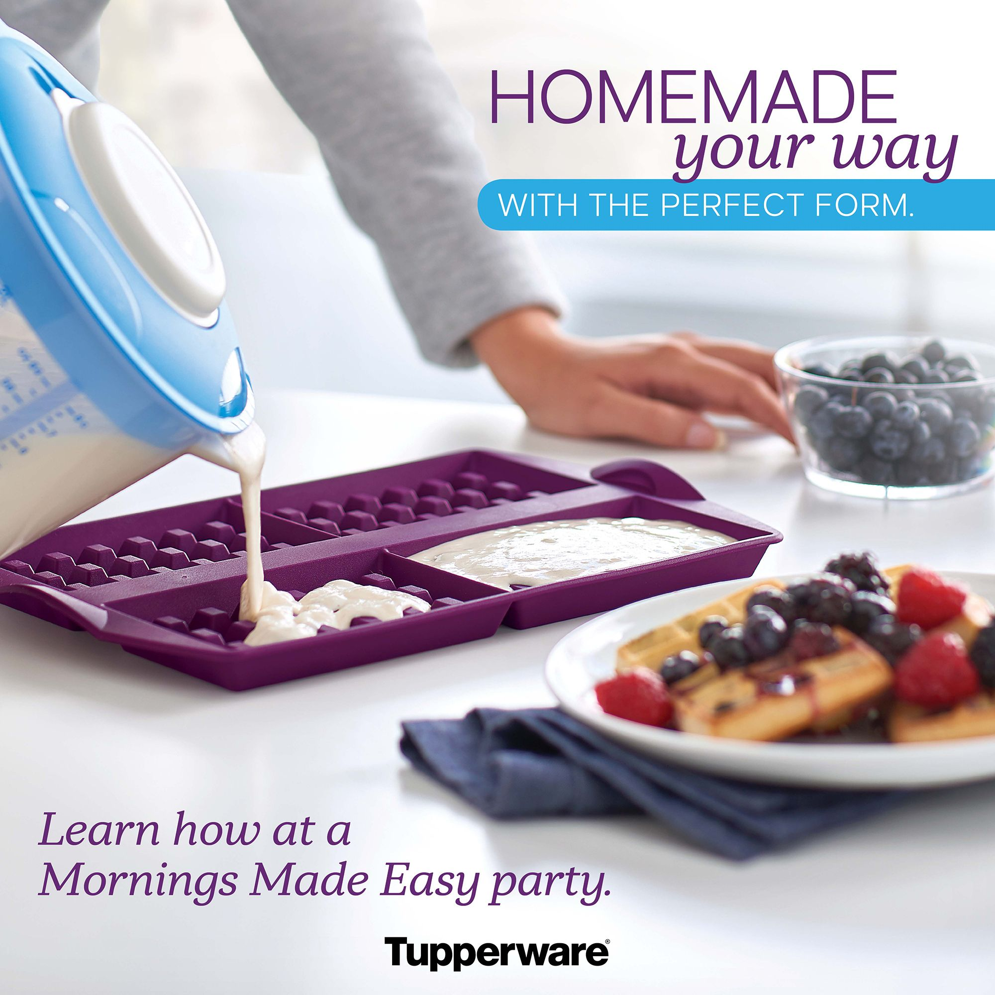 Can We Use Tupperware In Microwave Oven: Bake And Freeze Your Own Toaster Waffles. This Innovative