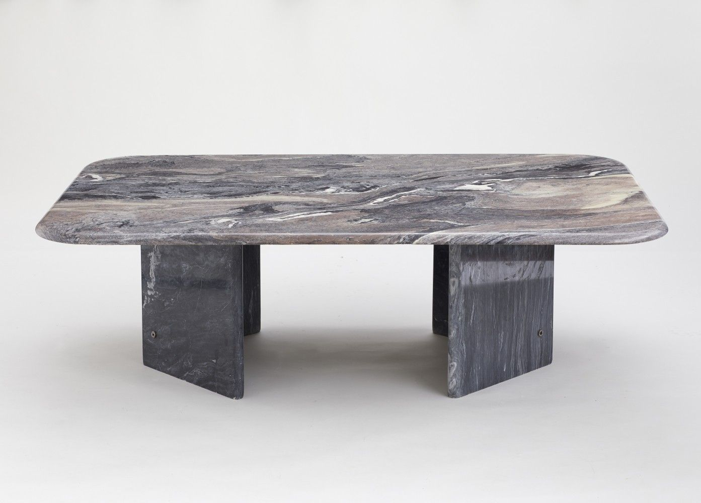 For Sale Vintage 1970 S Black Brown Marble Coffee Table Marble Coffee Table Coffee Table Table