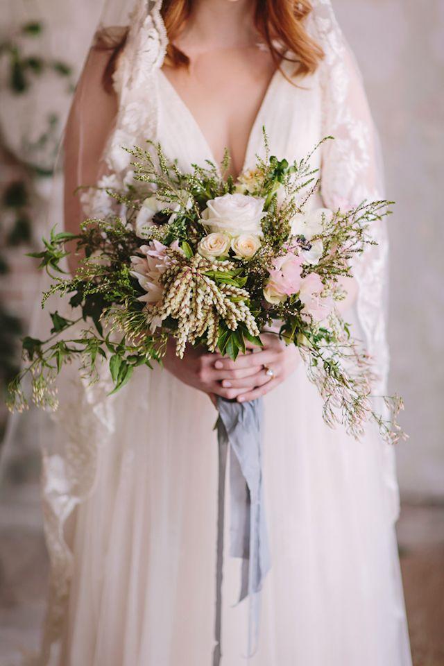 Organic Rose Gold Wedding Inspiration Wedding Wedding Inspiration
