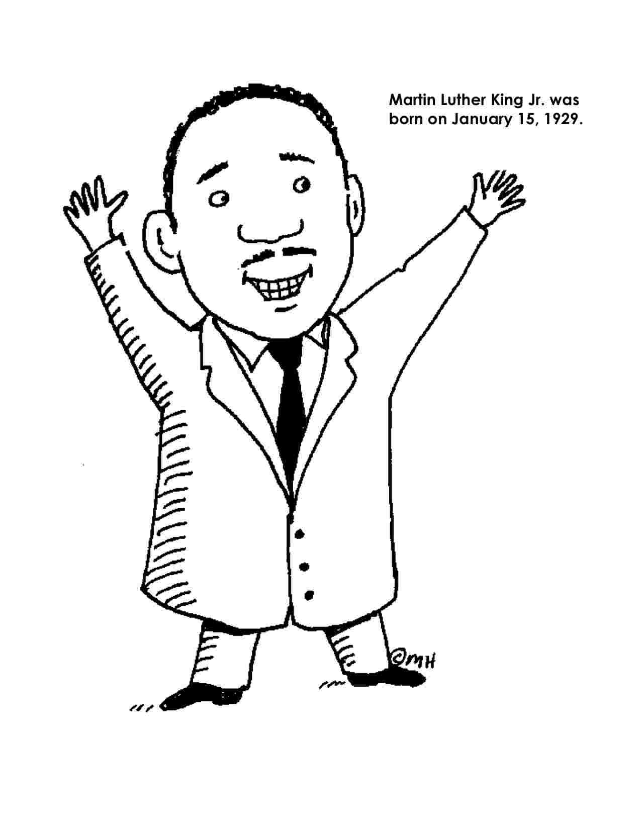 - Dr Martin Luther King Jr Coloring Pages For Preschoolers 9999++
