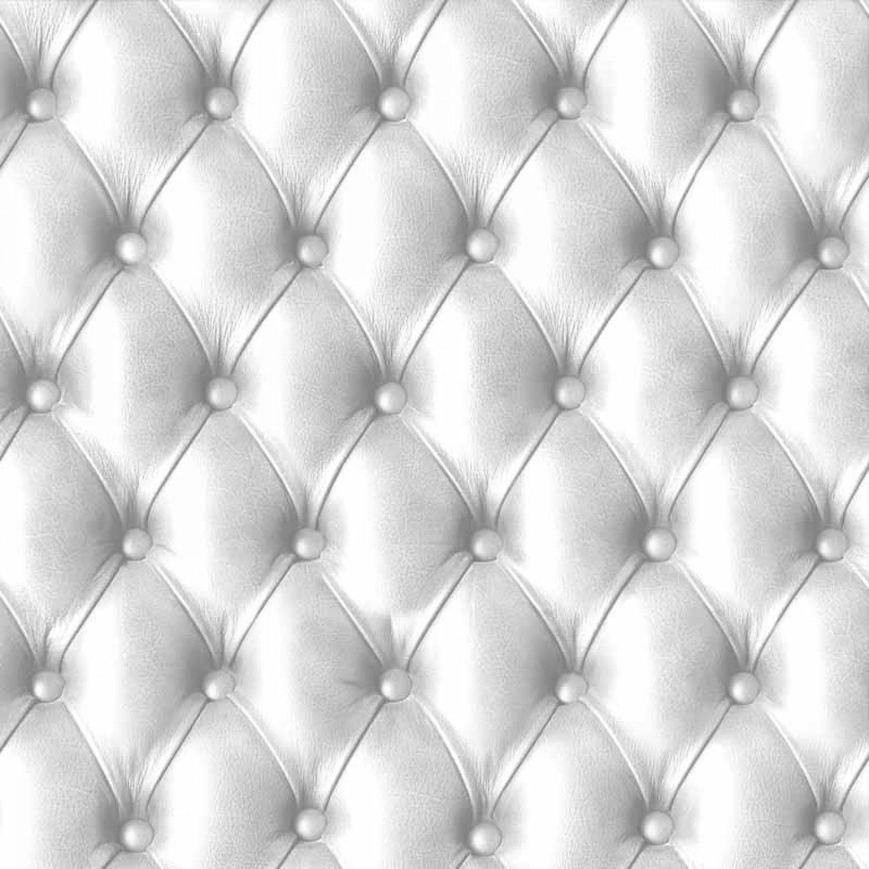 Papier Peint Effet Miroir Papier Peint Capitonne Blanc Aspect