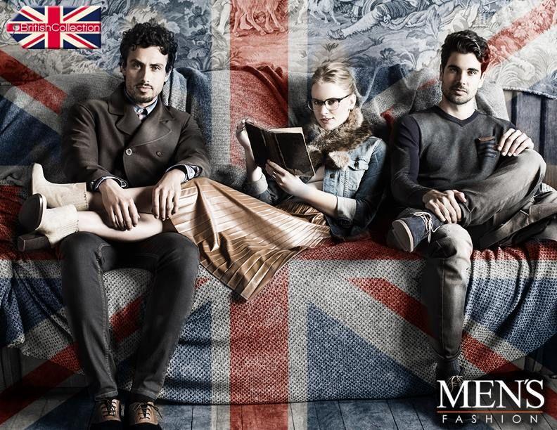 Consigue un look inglés solo con Men's Fashion y su temporada #BritishCollection. ¡Conócela! http://goo.gl/34eh97