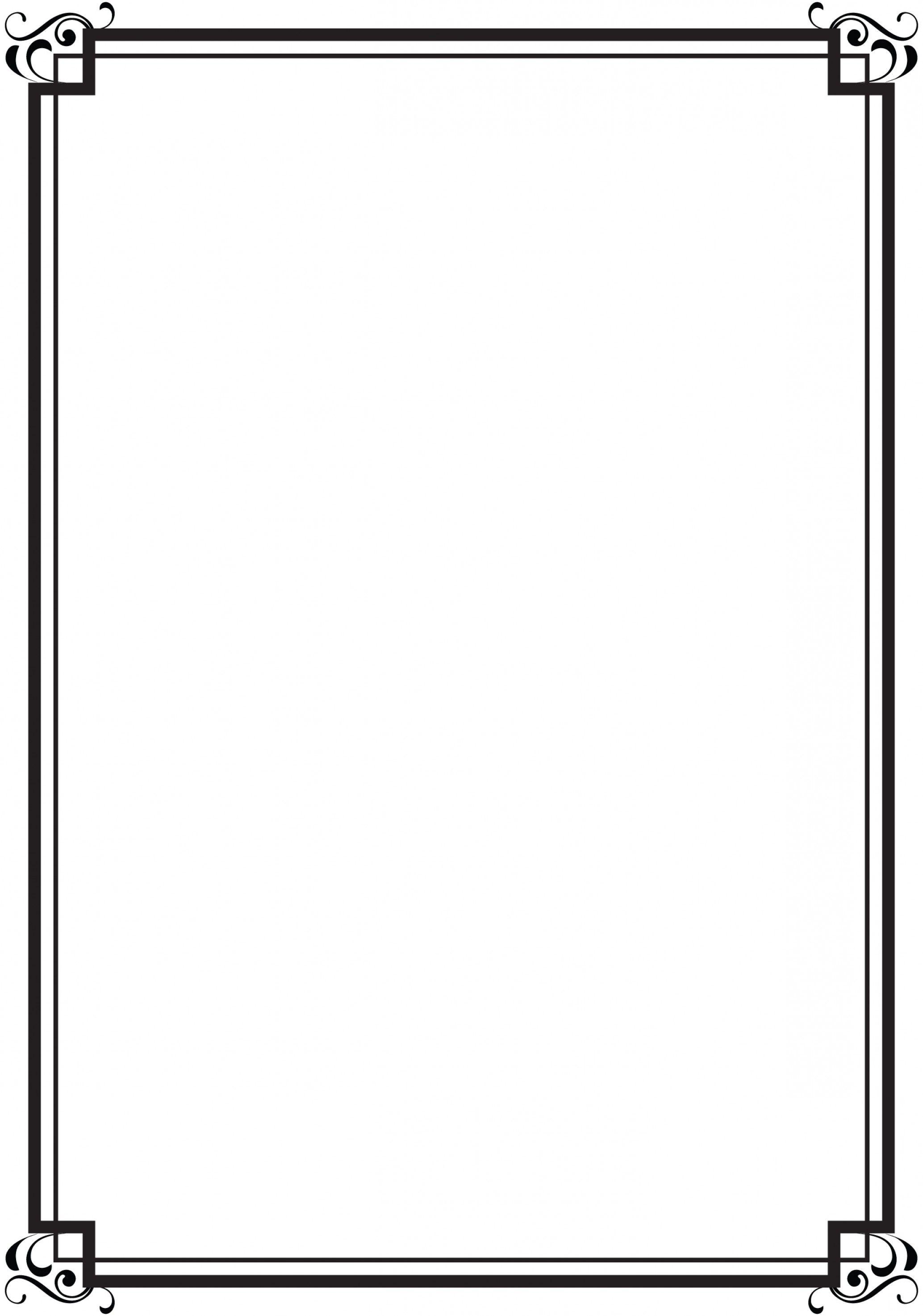 Simple Corner Borders | Free download on ClipArtMag |Desing Line Border