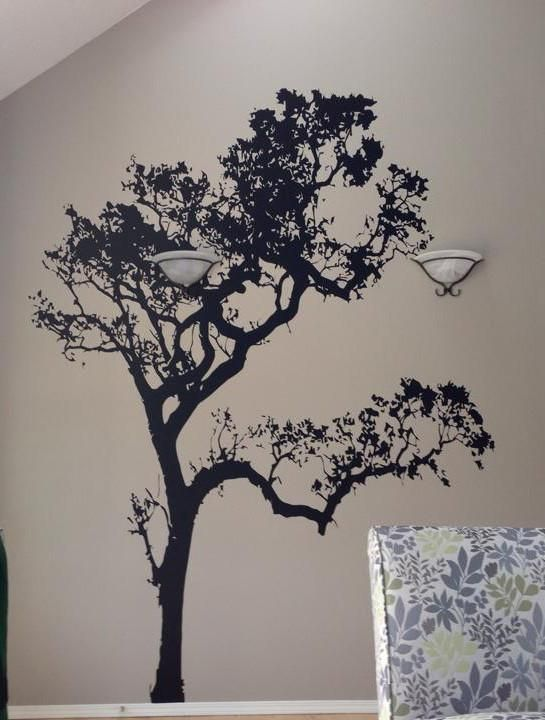 big oak tree wall decal. #409 in 2019 | wall decals | vinyl wall