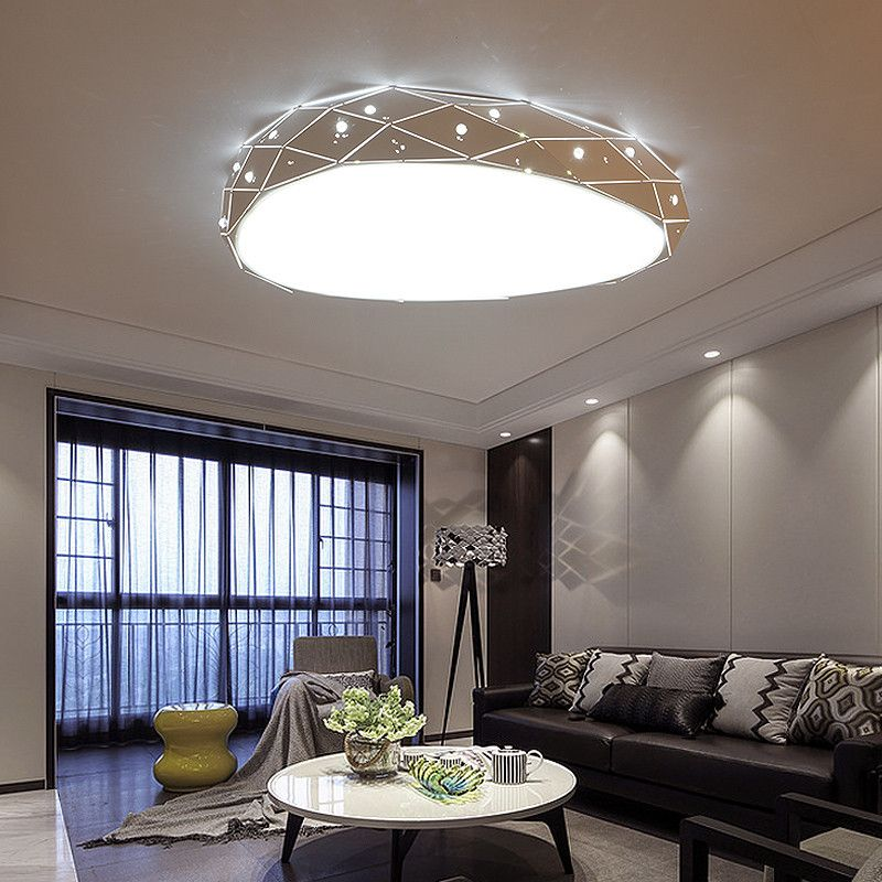 Dimming Remote Control Modern Led Ceiling Lights For Living Room Bedroom Balcony Kitchen New Acrylic