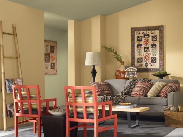 Using Color Easy By Sherwin Williams From Hgtv Living Room Paint