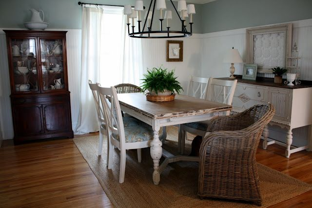 Farmhouse / Cottage Dining Room