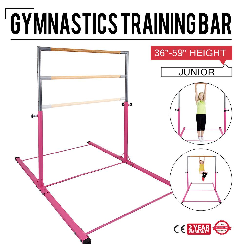 Adjustable Gymnastics Junior Training Horizontal Bar Sports