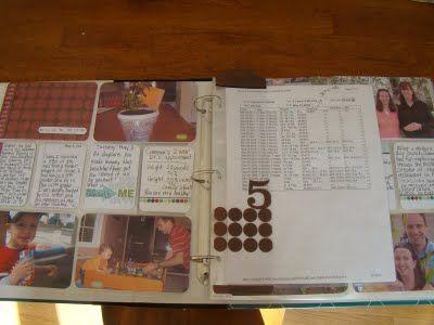 Lovin' Mama Castner's Project Life layouts!