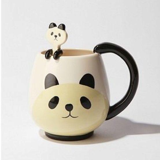 Cute Panda tea Mug #mugs, #pandas, #design, #pinsland, https://apps.facebook.com/yangutu/