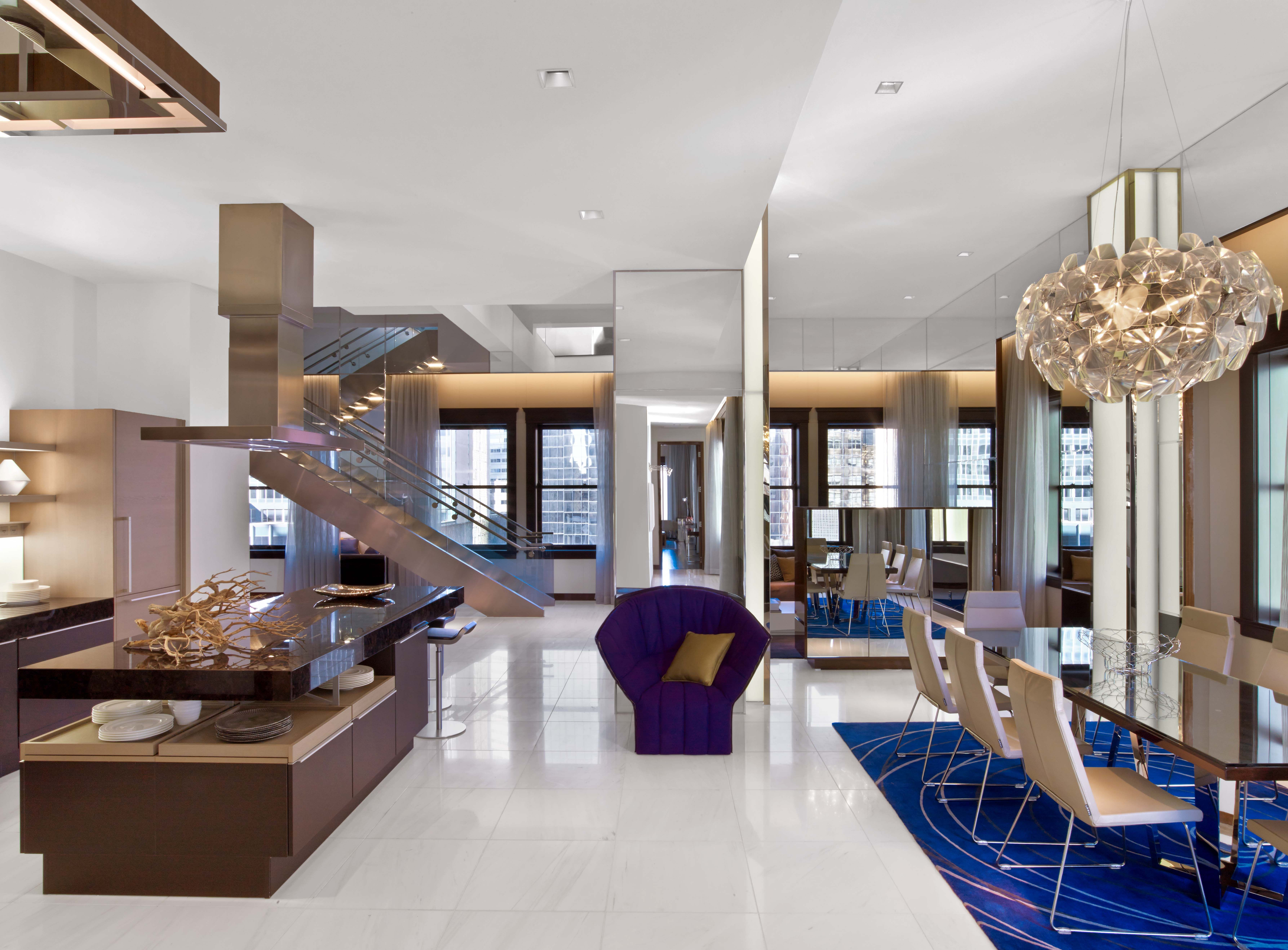 Penthouse at The Joule Hotel suites, Hotel, Suites
