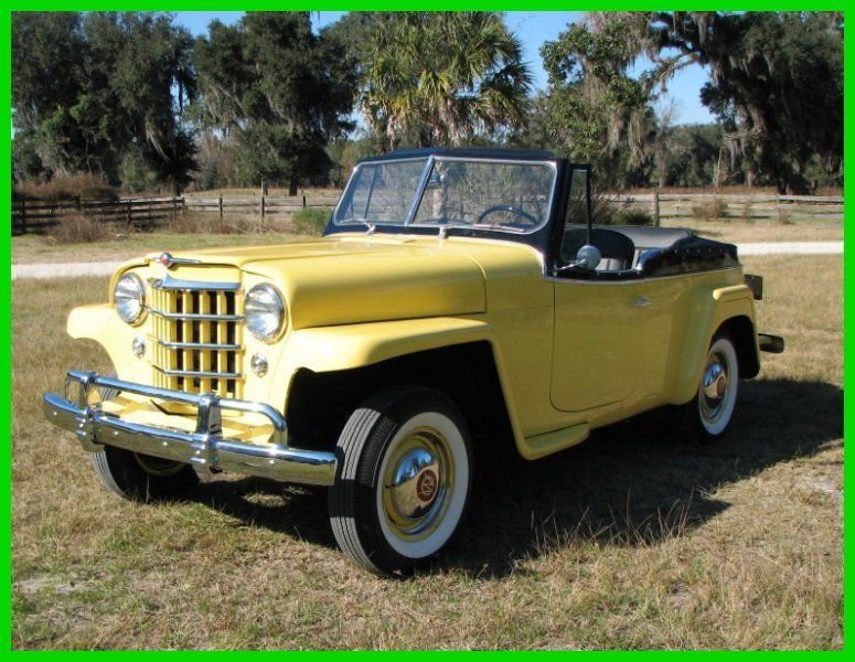 1951 Willys Jeepster Complete Restoration Jeepster Willys