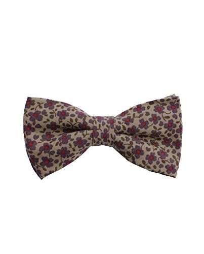 AMERICAN TANG Mens Silk Bowtie Gift Luxurious Bow Ties
